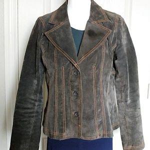 B B Dakota Woman's Suede Jacket